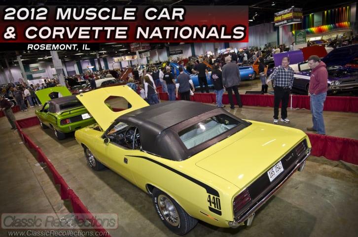 MCACN: 2012 Muscle Car & Corvette National, Rosemont Illinois