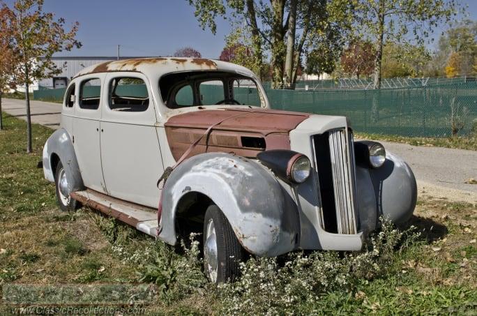 PROJECT CAR: 1939 Packard Sedan