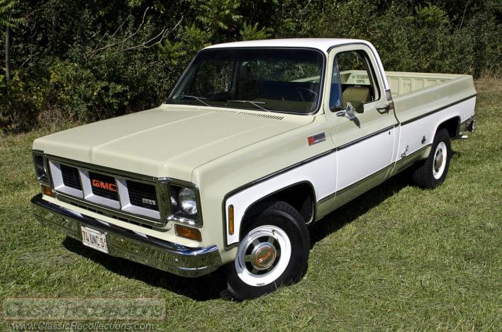 FEATURE: 1974 GMC Sierra 2500 Camper Special