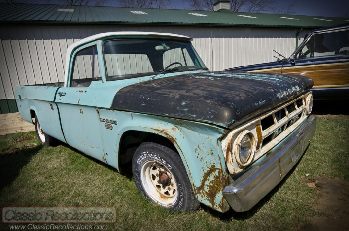 FEATURE: 1963 Dodge D200 – 'Superman: Man of Steel'