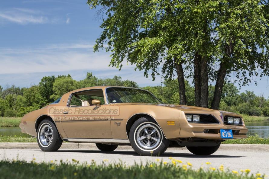 1977 Pontiac Firebird 'Esprit' – Rockford Files Tribute